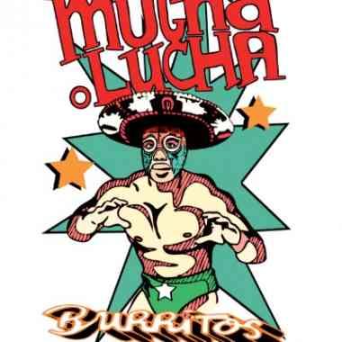 Logo Foodtruck Mucha Lucha Burritos
