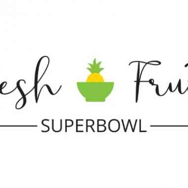 Logo Foodtruck Fresh Fruit SuperBowl
