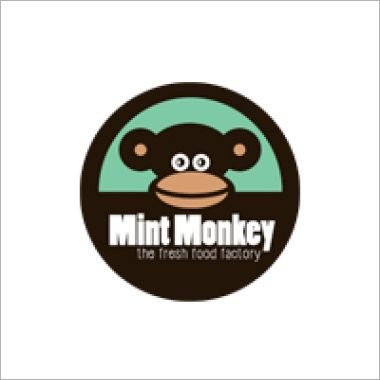 Logo Foodtruck Mint Monkey