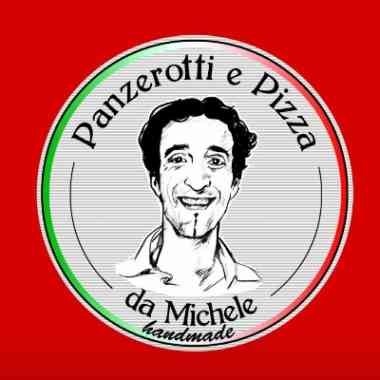 Logo Foodtruck da Michele Panzerotti e Pizza