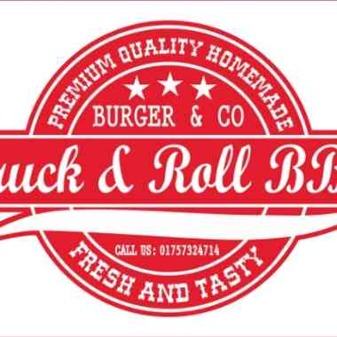 Logo Foodtruck Truck & Roll BBQ