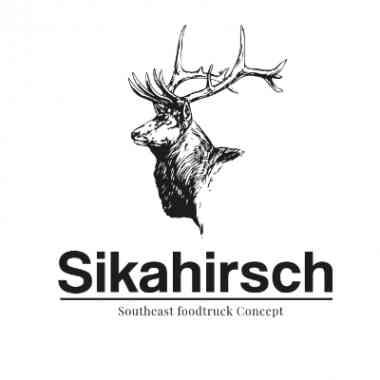 Logo Foodtruck Sikarhirsch