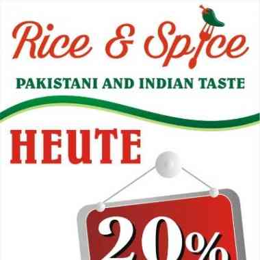 Logo Rice & Spice-Indian Pakistani Taste