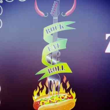 Logo Foodtruck Rock Eat & Roll