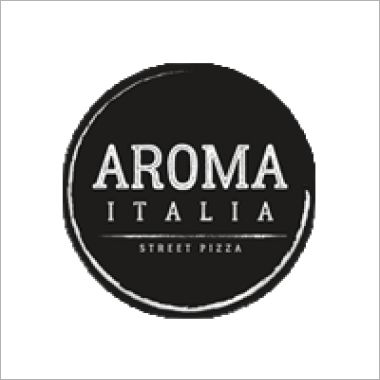 Logo Aroma Italia Street Pizza