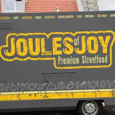 Logo Foodtruck Joules of Joy