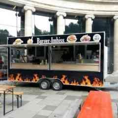 Logo - Burger Mobil - Wir bieten 10 Variante Burger an.