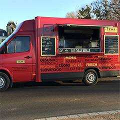 Cena - The Mobile Kitchen - Burger, Pasta & Sushi
