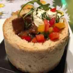 Tastylicious - Gulasch im Brot