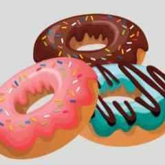 Mini Donuts - Impression 3 Mini Donuts