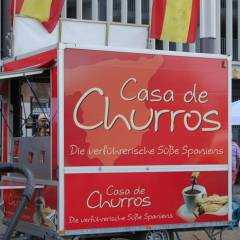 Traditionell spanische Churros