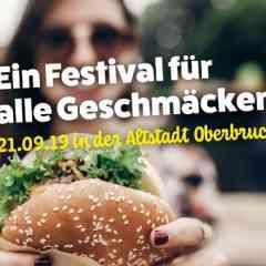 Street Food Meile auf dem 25. Industriefest Heinsberg - Festival