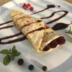 Reise-Gastronomie - Crepes süß