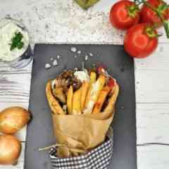 Oh my Greek! - Impression 1 PITA GYROS by Sgouros Food