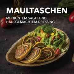 FINE - Maultaschen mit Salat