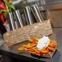 CurryPommes - Süßkartoffelpommes
