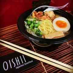 Logo - Oishii Japanese Streetfood - Original Japanische Streetfood Kitchen made in Paderborn