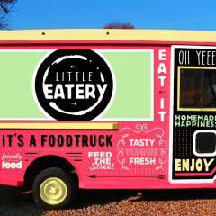 Logo - Little Eatery - Ich biete feinste Kaffee- und Teespezialitäten plus meine leckeren Waffle Bowls mit frischem Obst und süßen Köstlichkeiten.