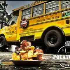 Jack´s Tasty Foodtrucks - Foodtruck POTATO INK / US Schoolbus