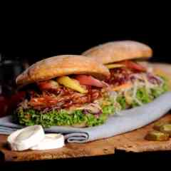 Pulled Pork- und Turkey-Kreationen