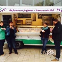 Impressionen Joghurtfreunde – Emilias Frozen Yogurt Truck