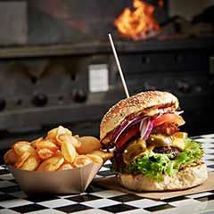 Impressionen Guerilla Gröstl Gourmet-Burger