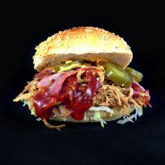 FrankenGrillA FoodTruck - Pulled Pork Burger XXL