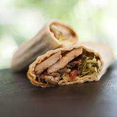 Wraps & Ribs & Salads