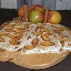 BEAs Flammkuchen - Flammkuchen mit Apfel & Zimt