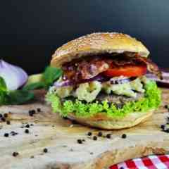 Lou´s Continental Burger - Burger Foodtruck Catering