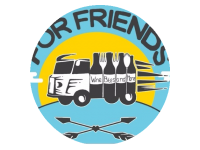 Logo Foodtruck Wine & Food Truck «For Friends»