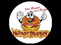 Logo Beste Burger und Pommes der Welt - Burger, Currywurst, Pommes, Bratwurst