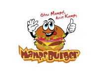 Logo Mampf-Burger - Burger, Currywurst, Pommes, Bratwurst
