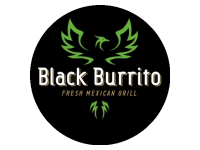 Logo Foodtruck Black Burrito - Fresh Mexican Grill