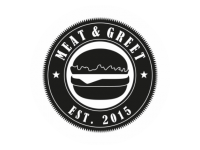Logo Meat and Greet - Gourmet Burger, Country Cuts, Getränke