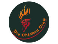 Logo Die Chicken Crew - Chicken, Chips & more....