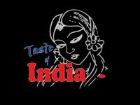 Logo tasteofindia steetfood