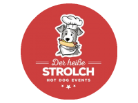 Logo Foodtruck Der heiße Strolch -  Hot Dog Events