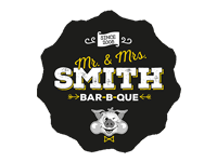 Logo Mr. & Mrs. Smith Food - Burger, Brisket, Spareribs, more...