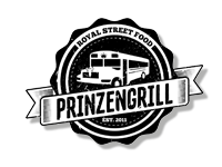 Logo Prinzengrill Food Trucks - Poutine, Burger, Spareribs, Pulled Pork