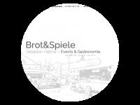 Logo Brot&Spiele Events & Gastronomie