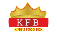 Logo king food box