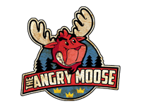 Logo The angry moose - Elchsandwich, Burger & more