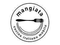 Logo mangiata - Pasta und Piadina