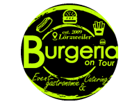 Logo Burgeria on tour - Burger Hot Dogs Pommes Crêpes Grillspezi