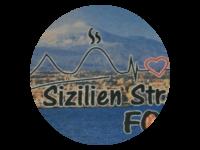 Logo Sizilien Street Food - Pizza, Pommes, Salat, Sizilianische Spez