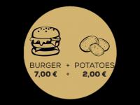 Logo Lou´s Continental Burger - Burger, Beefburger, Vegane Burger