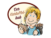 Logo Kartoffelbub - Kumpir: türkische Riesenkartoffeln