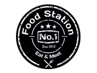 Logo Foodtruck Food Station No.1