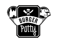 Logo Foodtruck Burger Patty